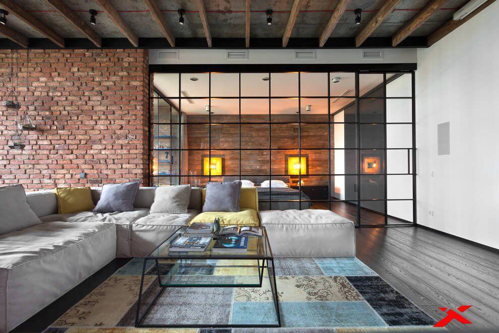 интерьер идея loft