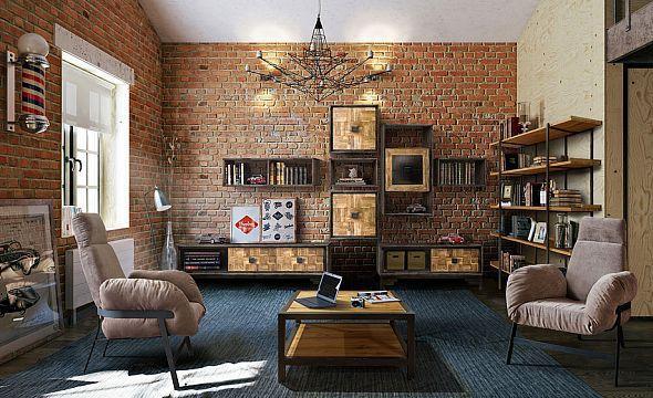 идеи для интерьера loft