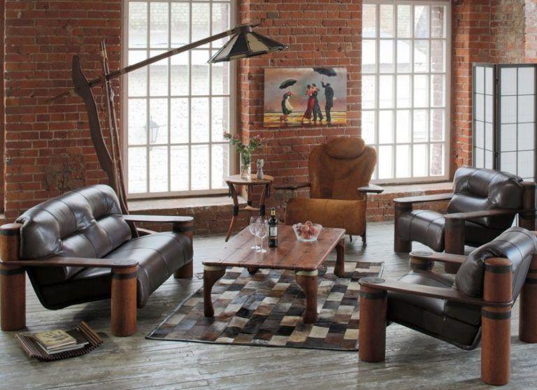 кресла стиль loft