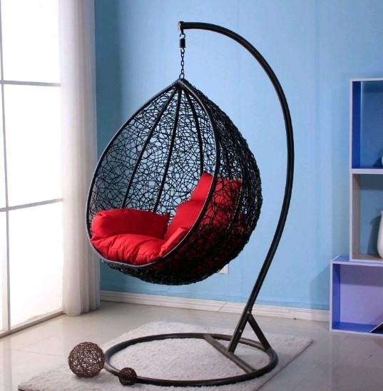 Подвесные кресла качели в интерьере фото