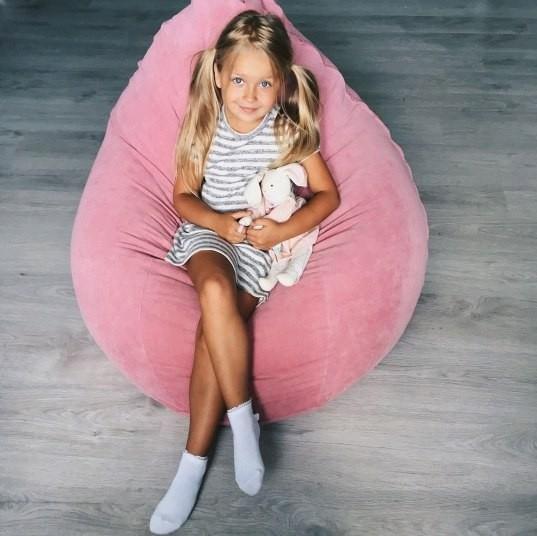 Розовые кресла для детской комнаты отличная идея для девочки