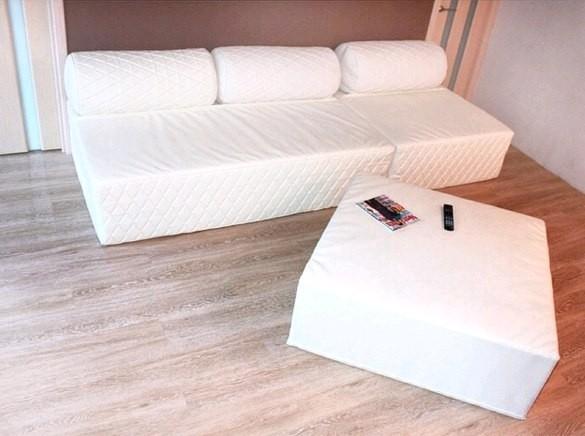 кровать на паралоне