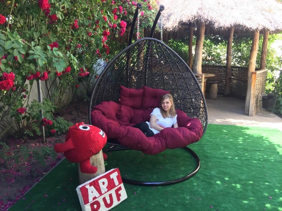 ротанговая мебель на веранда плетённая