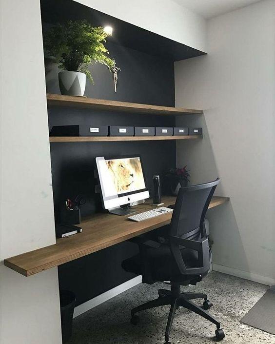 кабинет офисный в доме