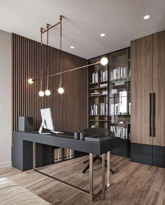 пример домашнего офиса лофт