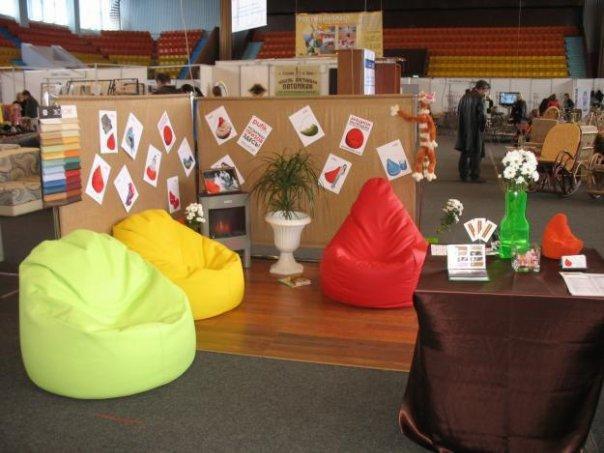 Бескаркасная мебель для бизнеса