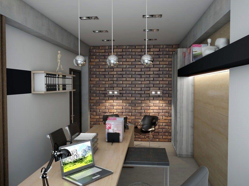 Как Организовать небольшой офис в стиле ЛОФТ?