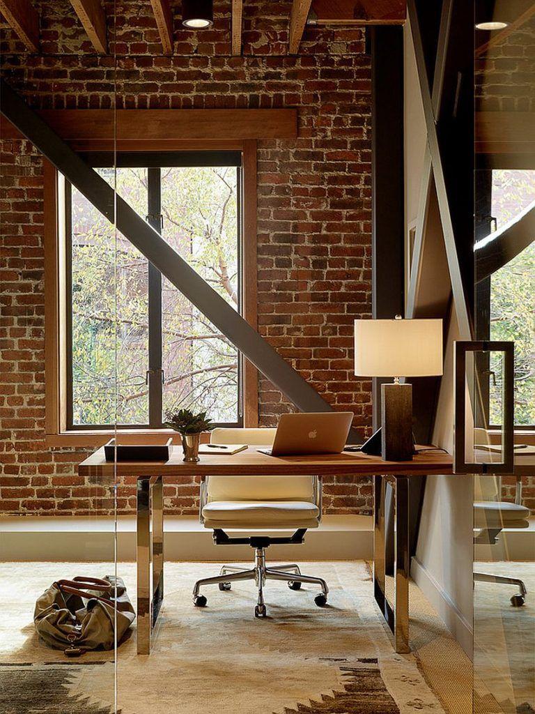 маленький офис лофт