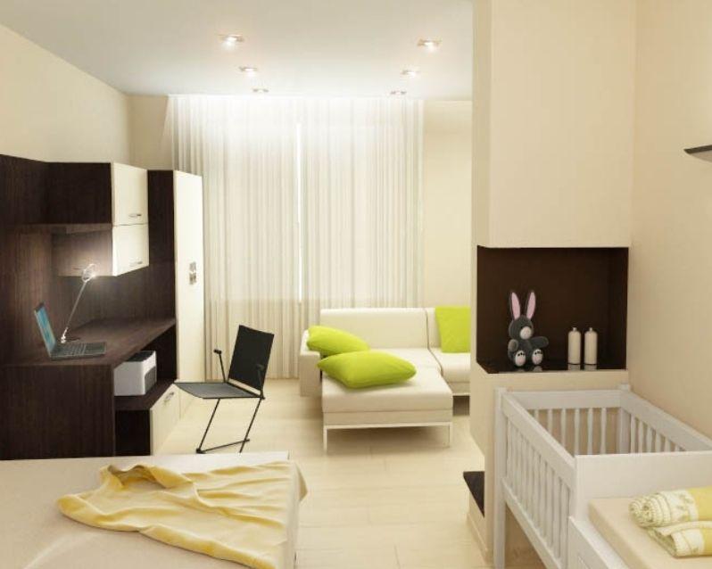 Однокомнатная квартира студия дизайн идеи в фото