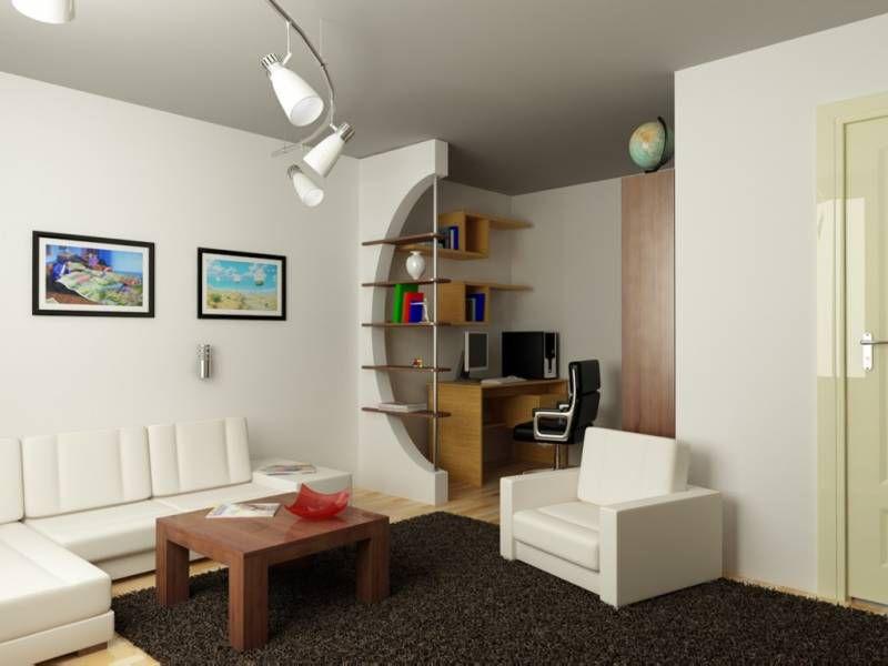 соединить прихожую и кухню в однокомнатной квартире