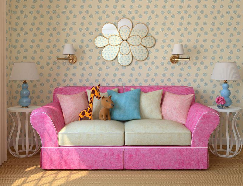 Как выбрать диван в детскую комнату? Советы