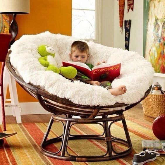 кресло мамасан в квартире фото