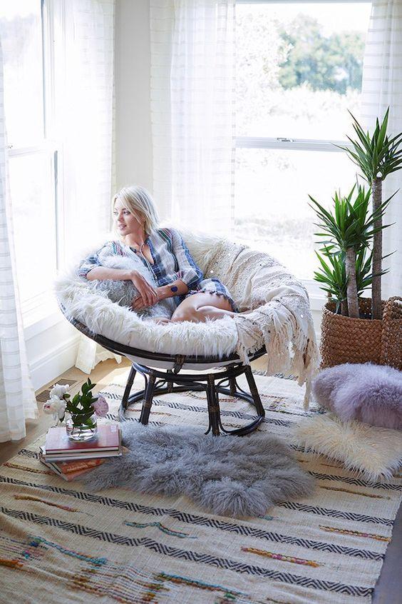 кресло папасан для отдыха фото
