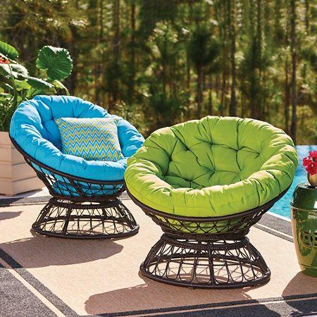 кресла папасаны на природе