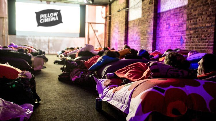 Pillow Cinema, Англия, в Лондоне