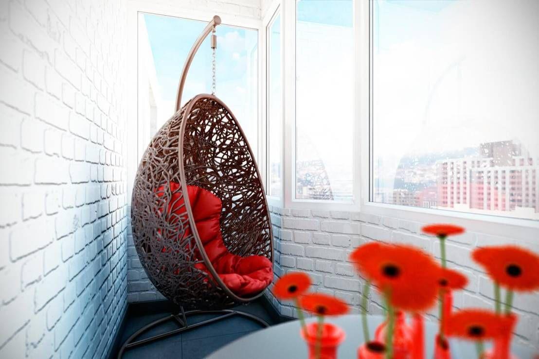 кресло кокон на балкон