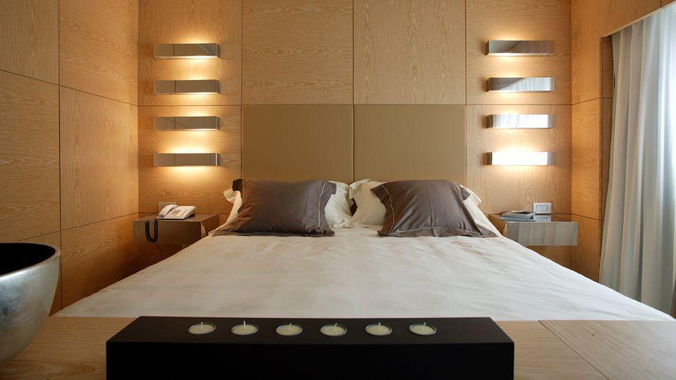 лампы в спальне