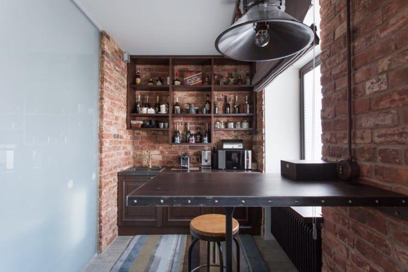 кресла для небольшой кухни в стиле лофт