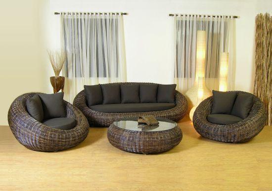 Какие бывают виды плетенной мебели из ротанга ?