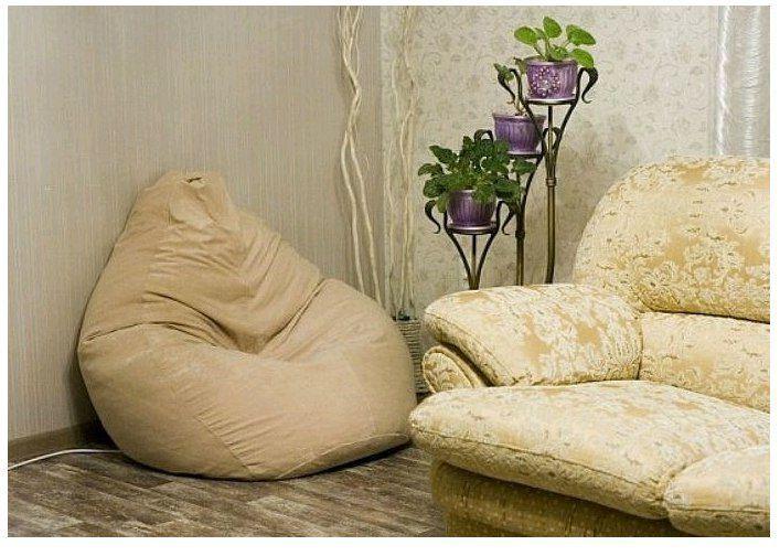 Какой цвет кресла мешка выбрать для гостиной?