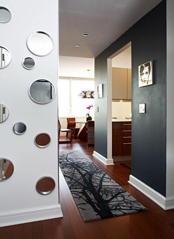 маленькие зеркала в гостиную
