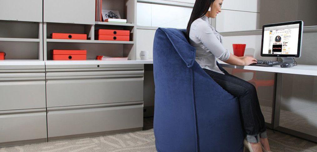 Кресло мешок в офисе как это выглядит как где и зачем?