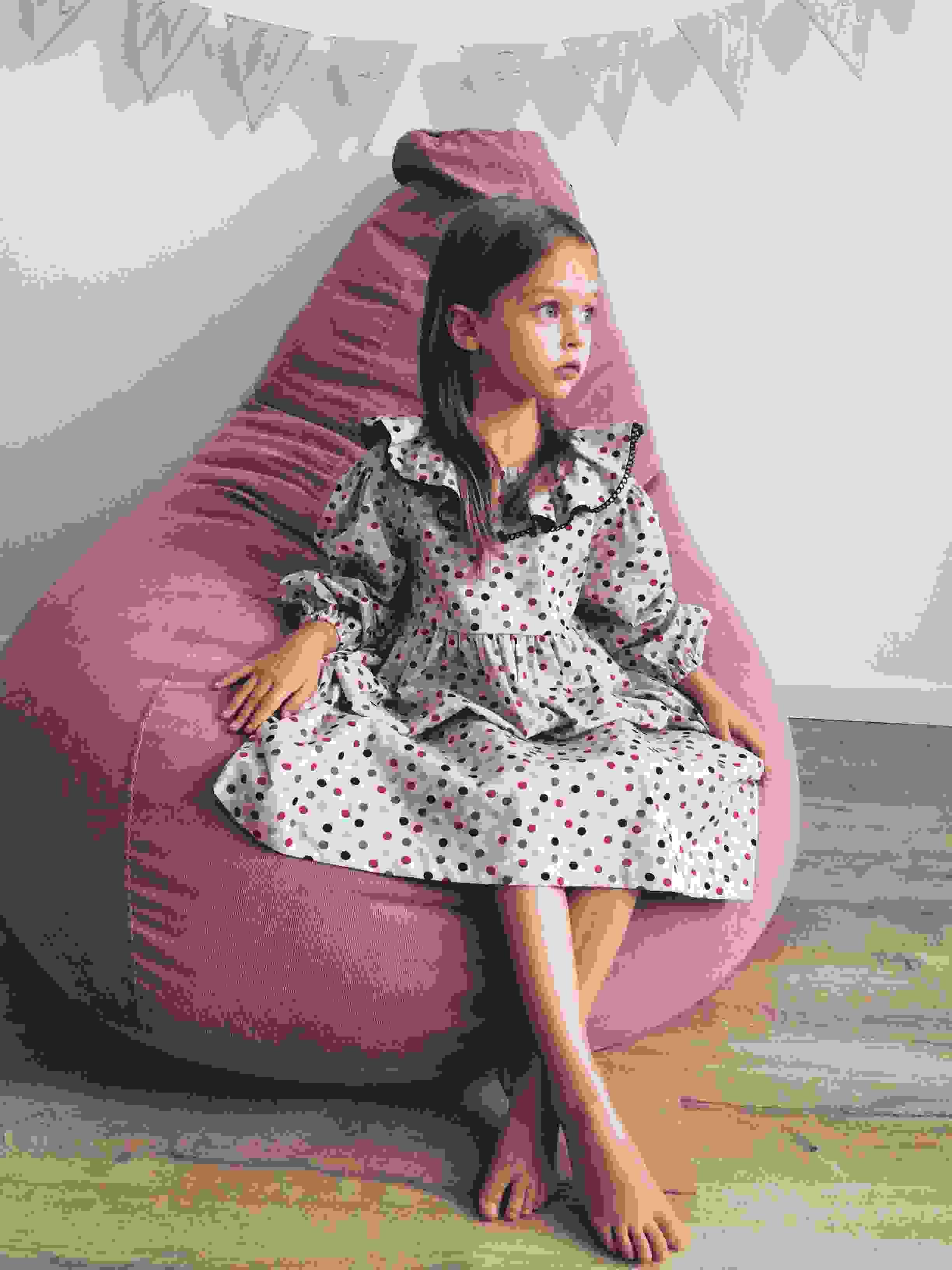 кресла мешки розовые